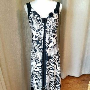Franklyman Design V-neck Summer Dress Size 10